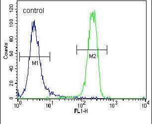 FGFR2 Antibody (PA5-14652) in Flow Cytometry