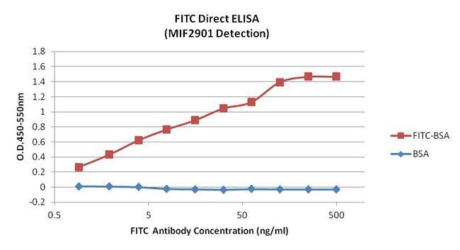 FITC Antibody (MIF2901) in ELISA
