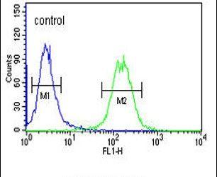 GALR1 Antibody (PA5-26355) in Flow Cytometry