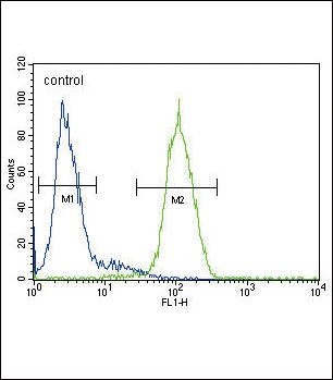 alpha Galactosidase Antibody (PA5-13687) in Flow Cytometry
