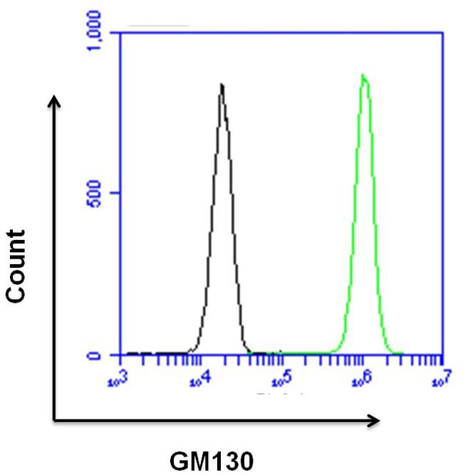GM130 Antibody (PA1-077) in Flow Cytometry