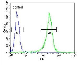 GNS Antibody (PA5-13516) in Flow Cytometry