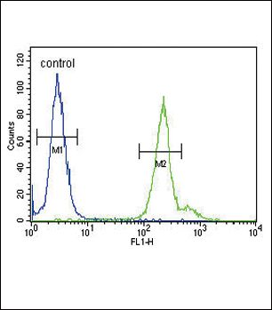 GPM6A Antibody (PA5-26350) in Flow Cytometry