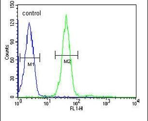 GRPR Antibody (PA5-26791) in Flow Cytometry