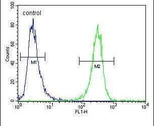 HFM1 Antibody (PA5-24112) in Flow Cytometry