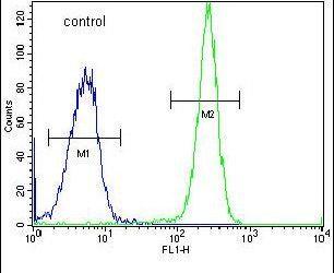 HYAL2 Antibody (PA5-24223) in Flow Cytometry