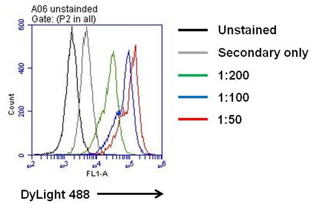 IL-6 Antibody (P620) in Flow Cytometry