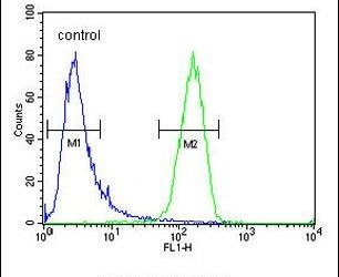 IQCJ Antibody (PA5-24393) in Flow Cytometry
