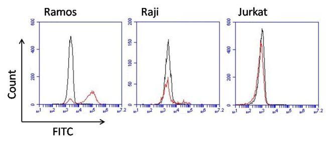 Human IgM Secondary Antibody (MA5-14712) in Flow Cytometry