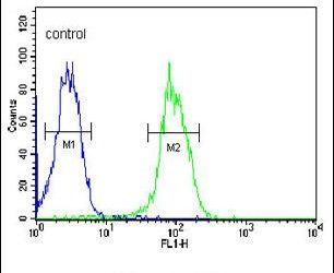 VEGF Receptor 2 Antibody (PA5-24710) in Flow Cytometry