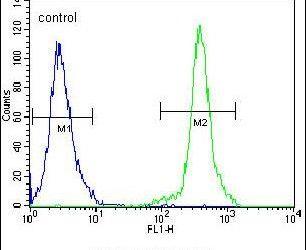 KLF14 Antibody (PA5-23784) in Flow Cytometry