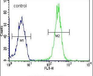 LRRC57 Antibody (PA5-24038) in Flow Cytometry