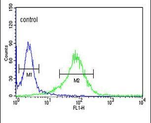 LUM Antibody (PA5-14570) in Flow Cytometry