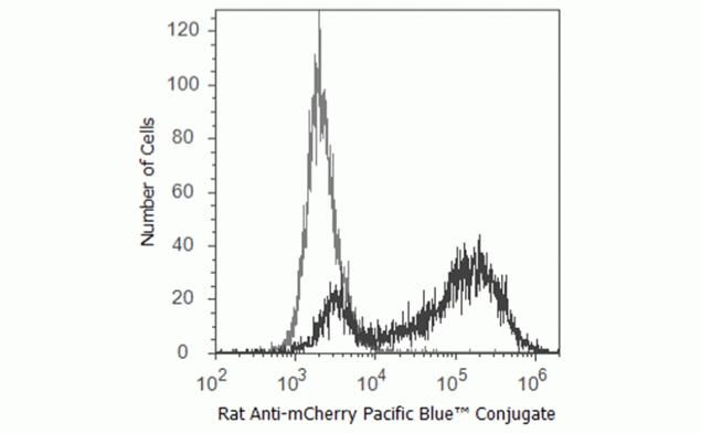 mCherry Antibody (M11217) in Flow Cytometry