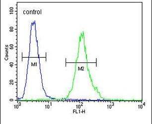 MS4A4A Antibody (PA5-24303) in Flow Cytometry