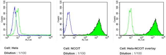 SSEA5 Antibody (MA1-144-D488) in Flow Cytometry