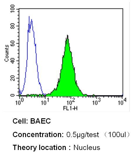 p53 Antibody (MA5-12554) in Flow Cytometry