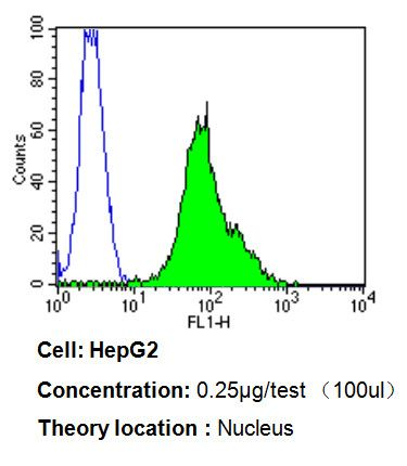 Ku70 Antibody (MA5-13110) in Flow Cytometry
