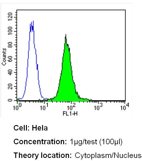 ERCC1 Antibody (MA5-13912) in Flow Cytometry