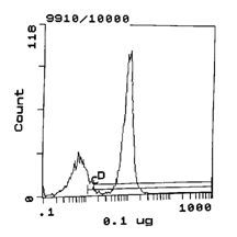 CD2 Antibody (MA5-17487) in Flow Cytometry