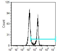 CD8 alpha Antibody (MA5-17600) in Flow Cytometry