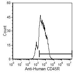 CD45R Antibody (MA5-17696) in Flow Cytometry