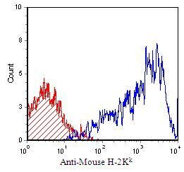 H-2Kk Antibody (MA5-17995) in Flow Cytometry