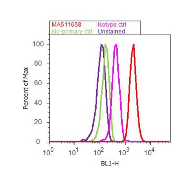 Myogenin Antibody (MA5-11658) in Flow Cytometry