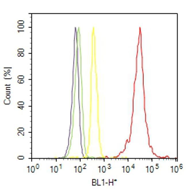 Cytokeratin 13 Antibody (MA5-12135) in Flow Cytometry