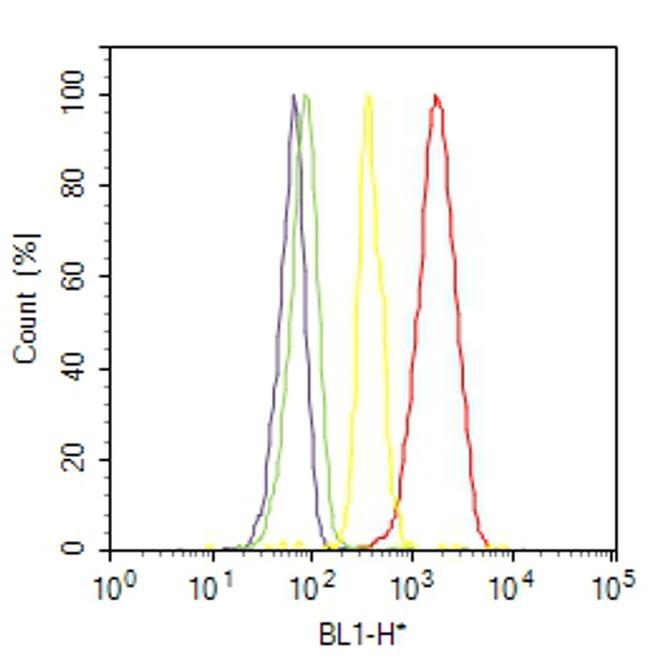 ErbB4 Antibody (MA5-12888) in Flow Cytometry