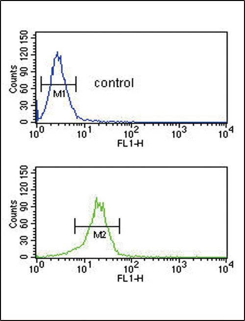 MTHFD2 Antibody (PA5-14248) in Flow Cytometry