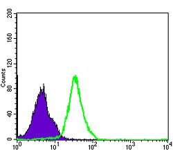 NFkB p50 Antibody (MA5-15870) in Flow Cytometry
