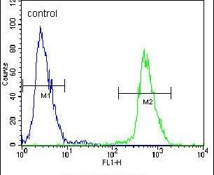 gp210 Antibody (PA5-26961) in Flow Cytometry