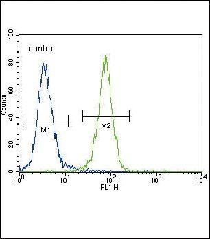 MCK10 Antibody (PA1-30315) in Flow Cytometry