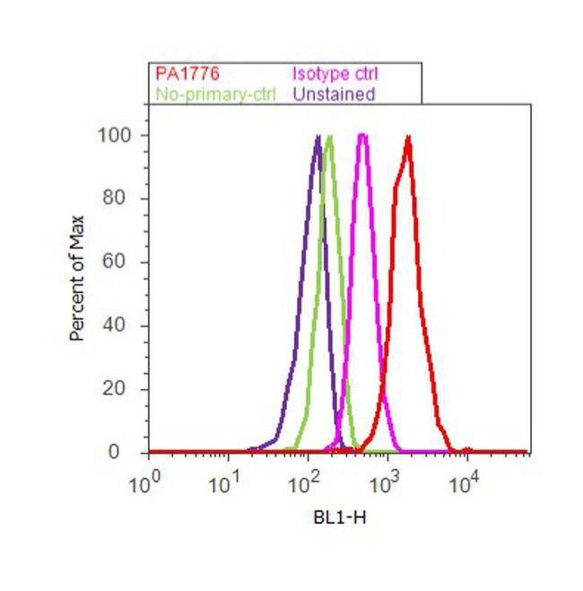 CSP alpha Antibody (PA1-776) in Flow Cytometry
