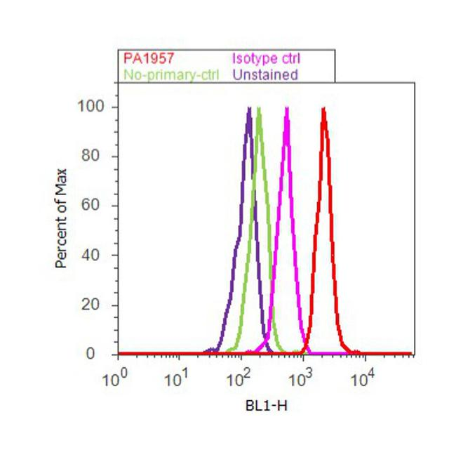 DR5 Antibody (PA1-957) in Flow Cytometry