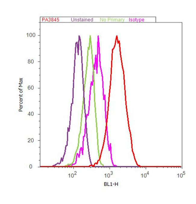 IFIT2 Antibody (PA3-845) in Flow Cytometry