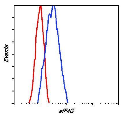 eIF4G Antibody (PA5-17422) in Flow Cytometry