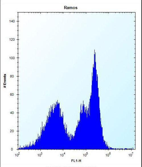 ZAP70 Antibody (PA5-35140) in Flow Cytometry