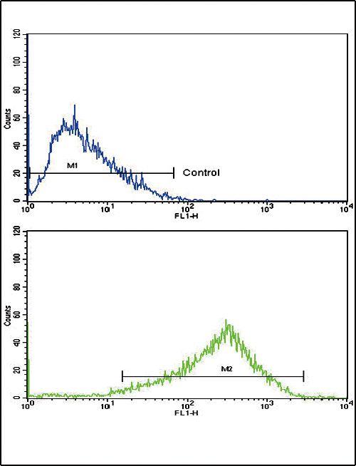 AP2A2 Antibody (PA5-35339) in Flow Cytometry