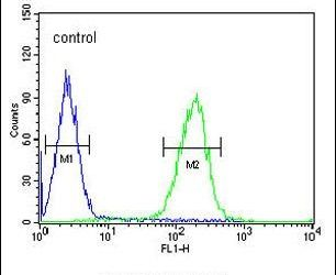 POTEE Antibody (PA5-23521) in Flow Cytometry