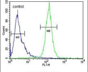 Cyclophilin C Antibody (PA5-26364) in Flow Cytometry