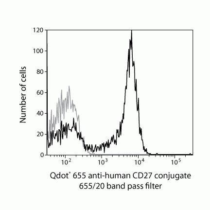 CD27 Antibody (Q10066) in Flow Cytometry