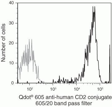CD2 Antibody (Q10172) in Flow Cytometry
