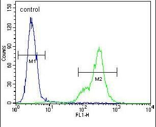 SCRN1 Antibody (PA5-25190) in Flow Cytometry
