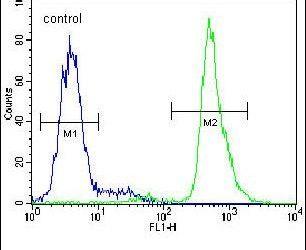 Neuroserpin Antibody (PA5-23892) in Flow Cytometry