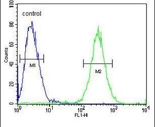 ST3GAL5 Antibody (PA5-25730) in Flow Cytometry