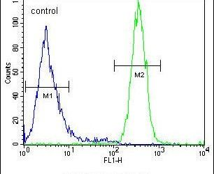 SYNC Antibody (PA5-24290) in Flow Cytometry