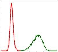 TUBA8 Antibody (MA5-17193) in Flow Cytometry