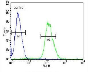 Tankyrase 2 Antibody (PA5-25233) in Flow Cytometry